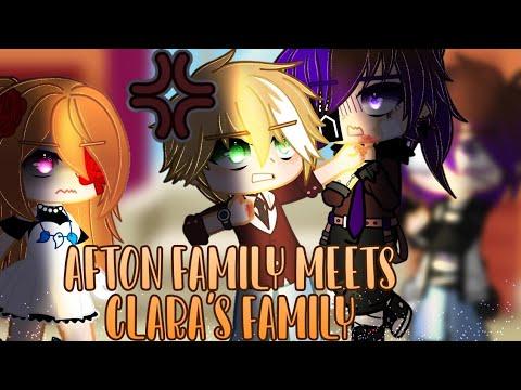 Download Afton family meets Clara's family (Mrs Afton)| Fnaf | ft Afton family & Me | Gacha Club