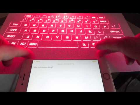 Review:BTC Wireless Bluetooth Laser Projection Virtual Keyboard
