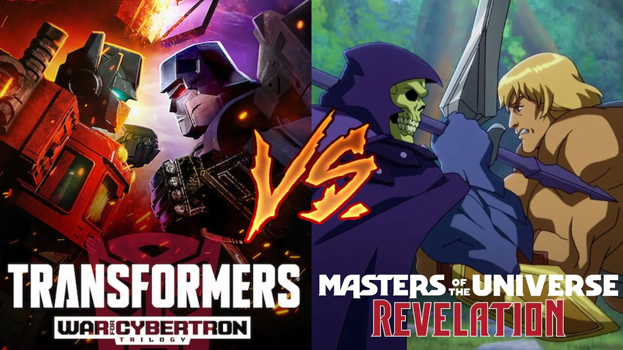 Master of the Universe: Revelation is what Transformers: War For Cybertron should have been!