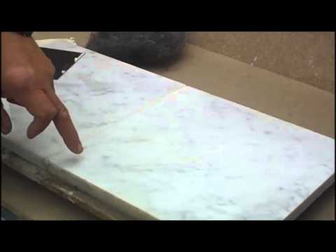 Putty You Holes And Cracks On Marble Floors Without
