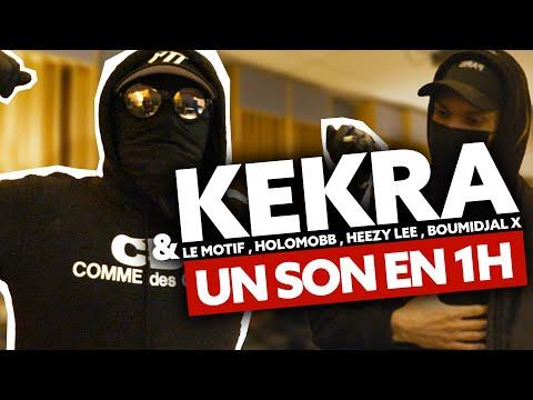 Youtube: 1 son en 1H: Tout est facile pour Kekra!