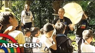 Bandila: Art workshop held for poor children