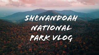 Shenandoah National Park, Virginia - Fall 2020 Vlog
