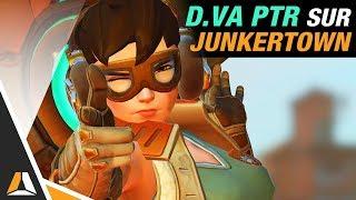 Nouveau style de jeu pour D.Va ► Gameplay sur Junkertown (PTR)