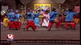 Folk Stars Dhoom Thadaka Program | Telangana Folk Songs | V6 News