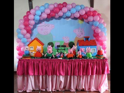 Decoração infantil Peppa Pig - Nick Festas