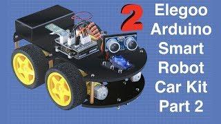 Bluetooth & Ir Remote - Elegoo Arduino Smart Robot Car Part 2