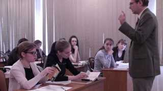 "Урок литературы по теме: ""Творчество Ф. Кафки"" Машевский А.Г. 2011 год"