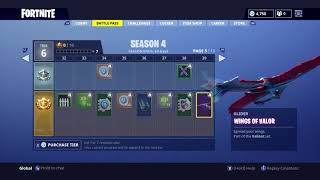 All Of The Battle Pass Season 4 Skins! (Fortnite Battle Royale)