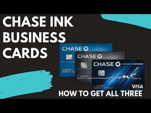 MY EXPERIENCE GETTING MY FIRST CHASE INK BUSINESS CARDS