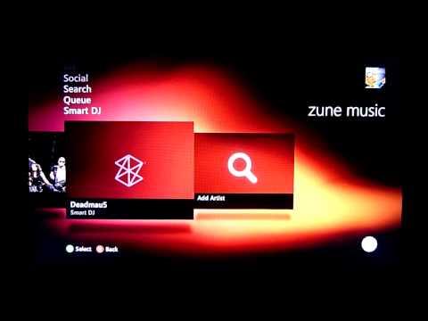 Zune Music Marketplace- XBox Dashboard Update Fall 2010 2of2