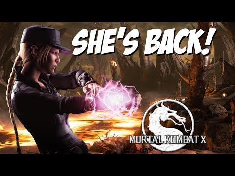 SONYA BLADE IS BACK!!  Mortal Kombat X Online Matches Sonya Blade