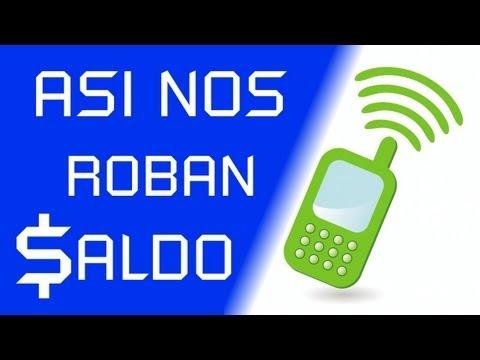 ASI NOS ROBAN SALDO
