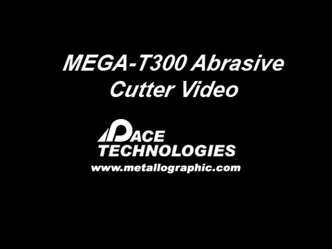 PACE Technologies MEGA-T300 12-in metallographic saw