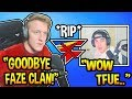 """Tfue *OFFICIALLY* Admits He's """"LEAVING"""" FaZe & Going Solo! (Fortnite Moments)"""