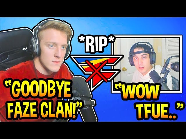 "Tfue *OFFICIALLY* Admits He's ""LEAVING"" FaZe & Going Solo! (Fortnite Moments)"