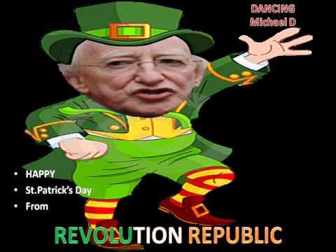 hqdefault dancing michael d higgins the leprechaun happy st patrick's day