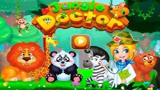 Jungle Doctor Лесной Доктор Ремонт Машины Строительство Палатки Лечение Животных Детское Видео