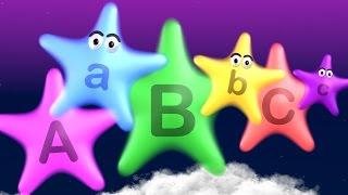 Twinkle twinkle little stars teach abc's - learn letters a to z