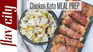 Keto Meal Prepping Like a Boss - Low Carb Keto Recipes For The Week