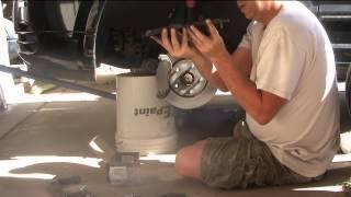 2007 Dodge Caliber Front Brake Pad Replacement