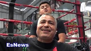 Robert Garcia Reveals What He Told Antonio Orosco Seconds After Ramirez Fight EsNews Boxing