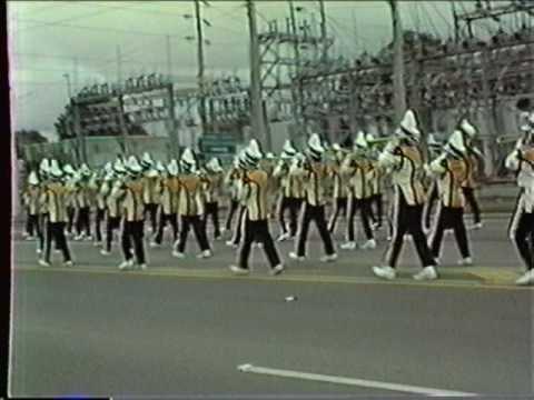 Gateway Senior High School Marching Band Festivals of Music Orlando April 11 through 14, 1985 5 of 5