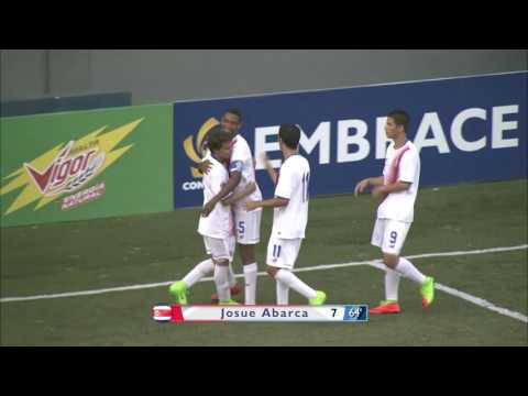 CU17PAN: Costa Rica vs Suriname Highlights
