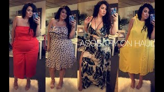 PLUS SIZE FASHION TRY ON HAUL | ASOS CURVE - faves and total fails!