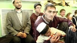 Ифтар детям-сиротам  в Закабанной мечети в Казани