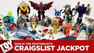 Dan in the Photobooth #85 - CraigsList Jackpot (Gobots, Transformers, Robotech)