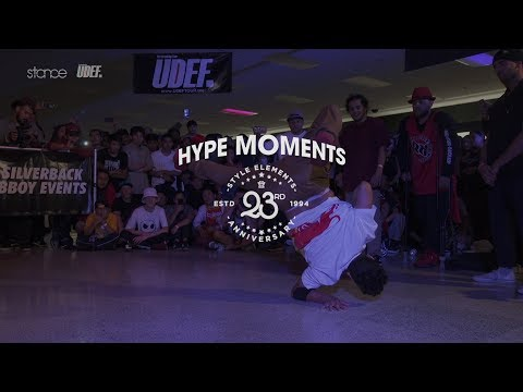 Hype Moments from Style Elements 23rd Anniversary ► .stance x UDEFtour.org ◄