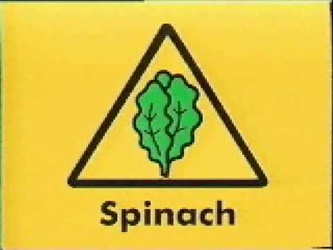 NIckelodeon Ident spinach-free zone