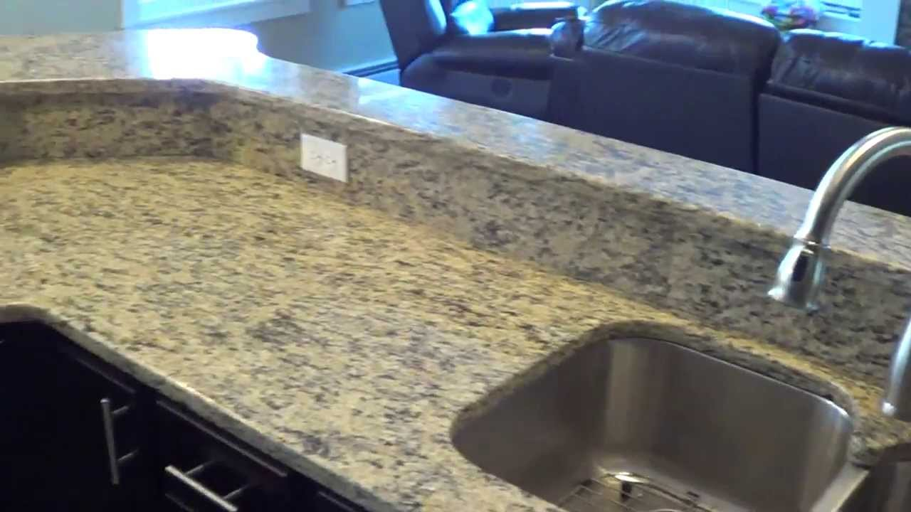 Saint Cecilia Custom Made In Maine Granite Countertop Installation Outlets  In The Backsplash