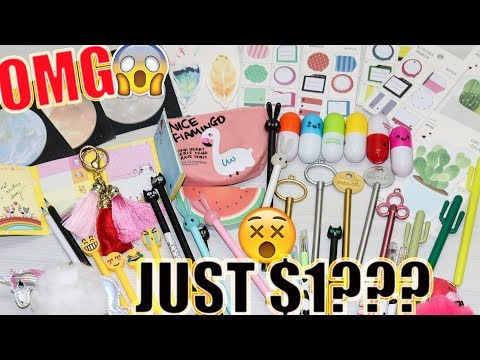 $1 WISH APP STATIONERY HAUL - Online Shopping In India | #He