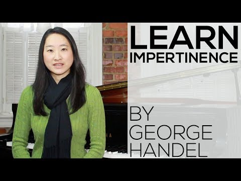 Impertinence by George Frideric Handel | Classical Piano Lesson | Early Intermediate | Video