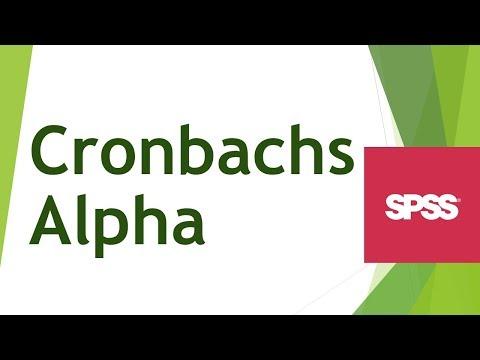 SPSS Video-Seminar # Teil 46: Statistiken -- Cronbach Alphaиз YouTube · Длительность: 6 мин46 с