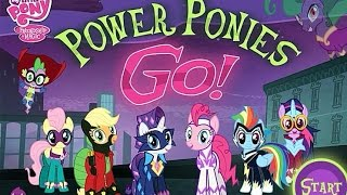[►] MLP: Power Ponies GO! [The Hub Network Flash Game] (Let's Play / My Little Pony Game)