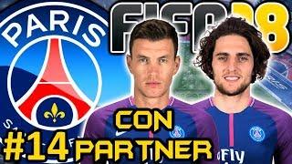 FIFA 18 PSG Modo Carrera #14 | ESTRENO EN CHAMPIONS LEAGUE | CON PARTNER