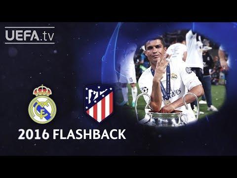REAL MADRID P1-1 ATLÉTICO: #UCL 2016 FINAL FLASHBACK