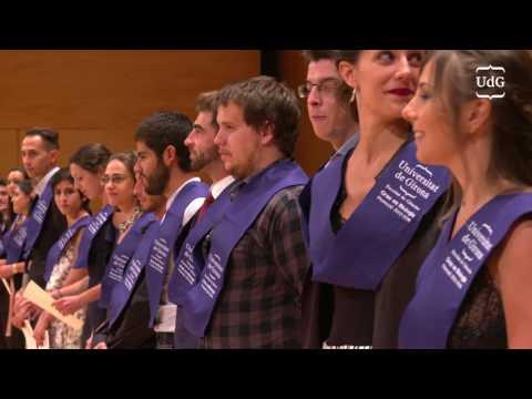 Acte de Graduació - Facultat de Ciències 2016 - Universitat de Girona
