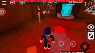 Roblox: jogando flee the facility com minha prima (Fera da marreta)