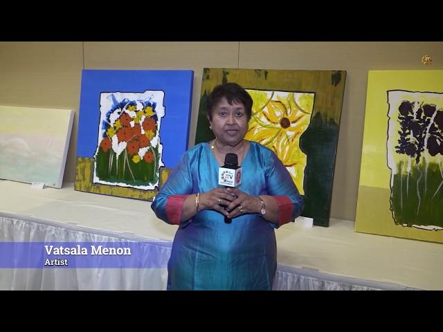 Vatsala Menon Presents Art Exhibit - Somerset - New Jersey