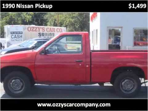 1990 Nissan Pickup Used Cars Garden City Boise ID YouTube
