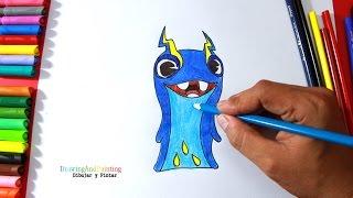 How to draw JOULES Tazerling (Slugterra) | Cómo dibujar babosa Electroshock (Bajoterra)