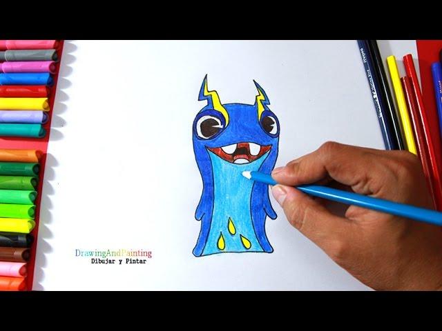 How to draw JOULES Tazerling (Slugterra) | Cómo dibujar