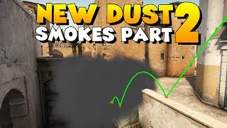 CS:GO - Must Know SMOKE GRENADES for NEW DUST2! - Part 2