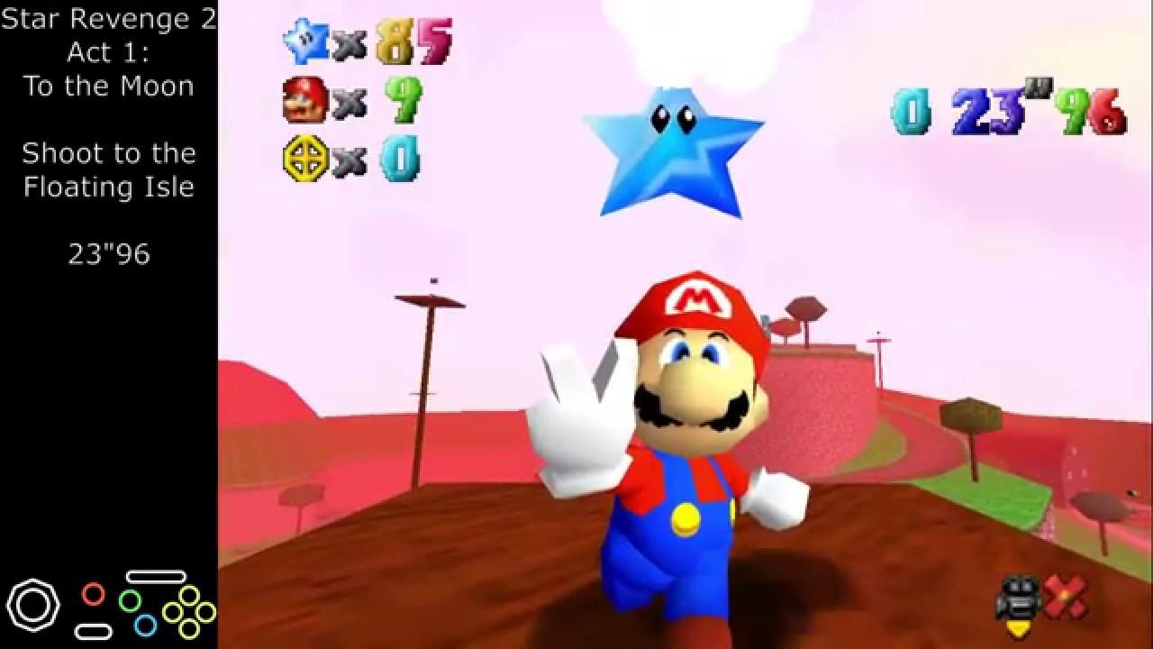 Super Mario 64 Rom Hacks - Single Star Compilation