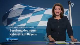 Neues Kabinett in Bayern aus CSU und Freie Wähler / Schwarz Orange