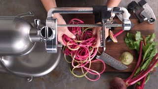 KitchenAid Spiralizer Attachment(Maximize your culinary creativity and efficiency by using this multifunctional attachment to turn your KitchenAid stand mixer into a full-service food prep center., 2015-09-16T22:32:11.000Z)